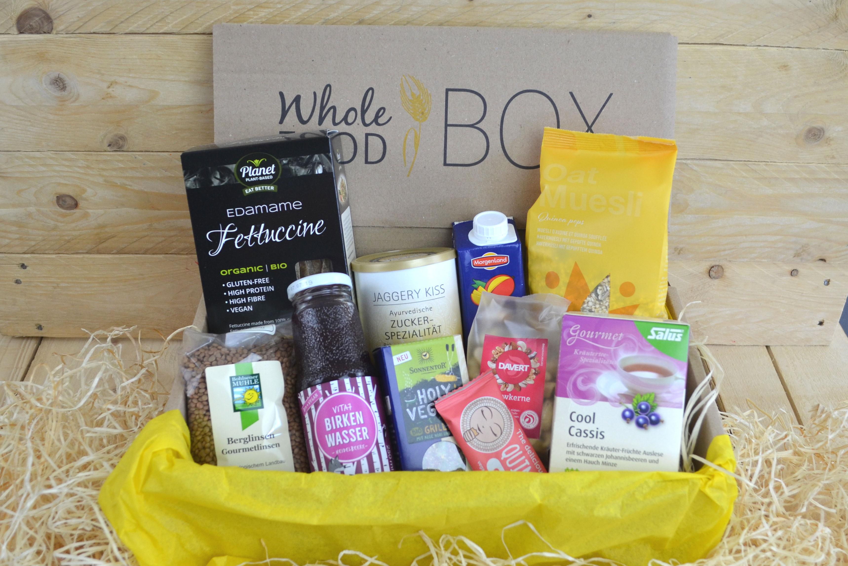 Beispiel einer Whole Food Box