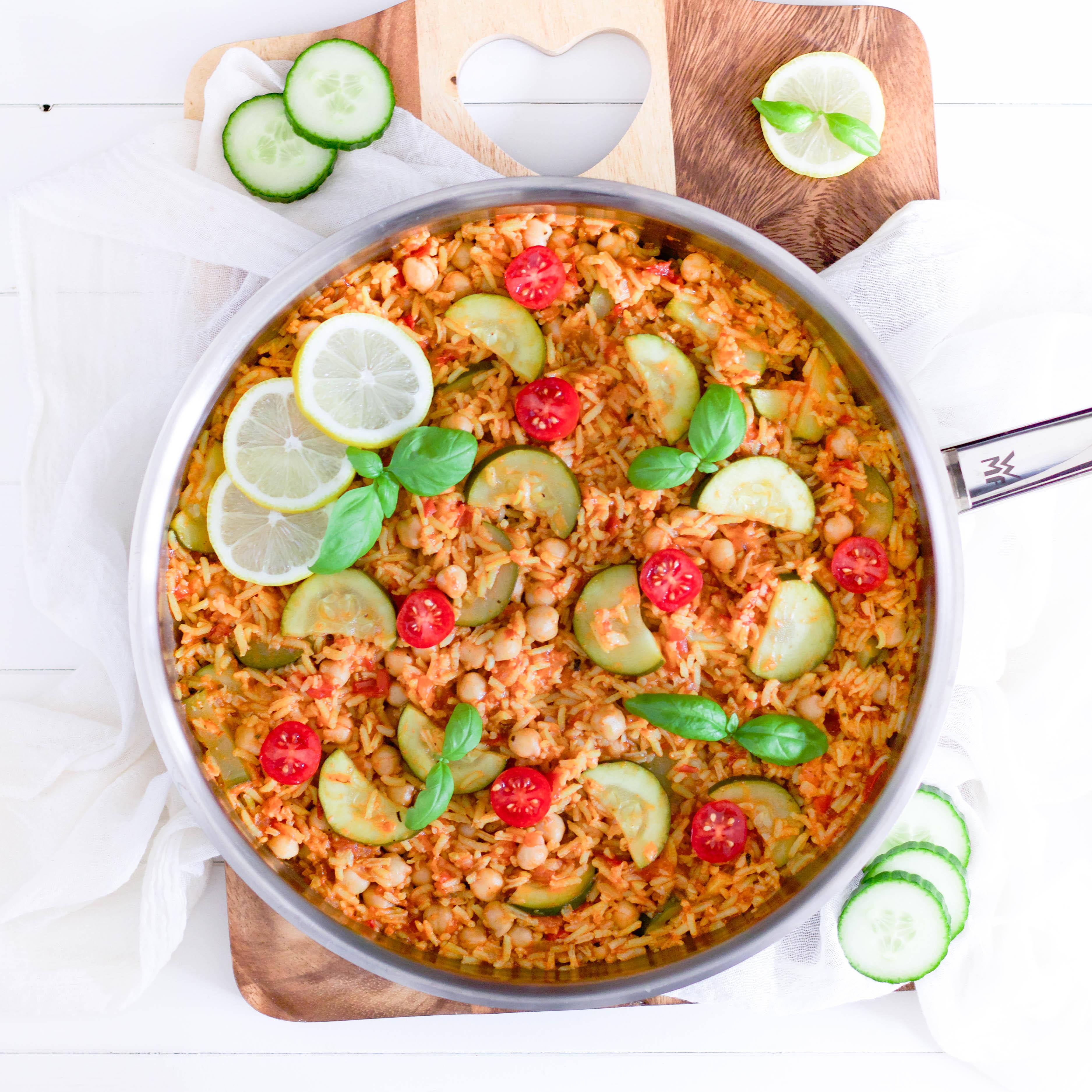 Baharat Reispfanne