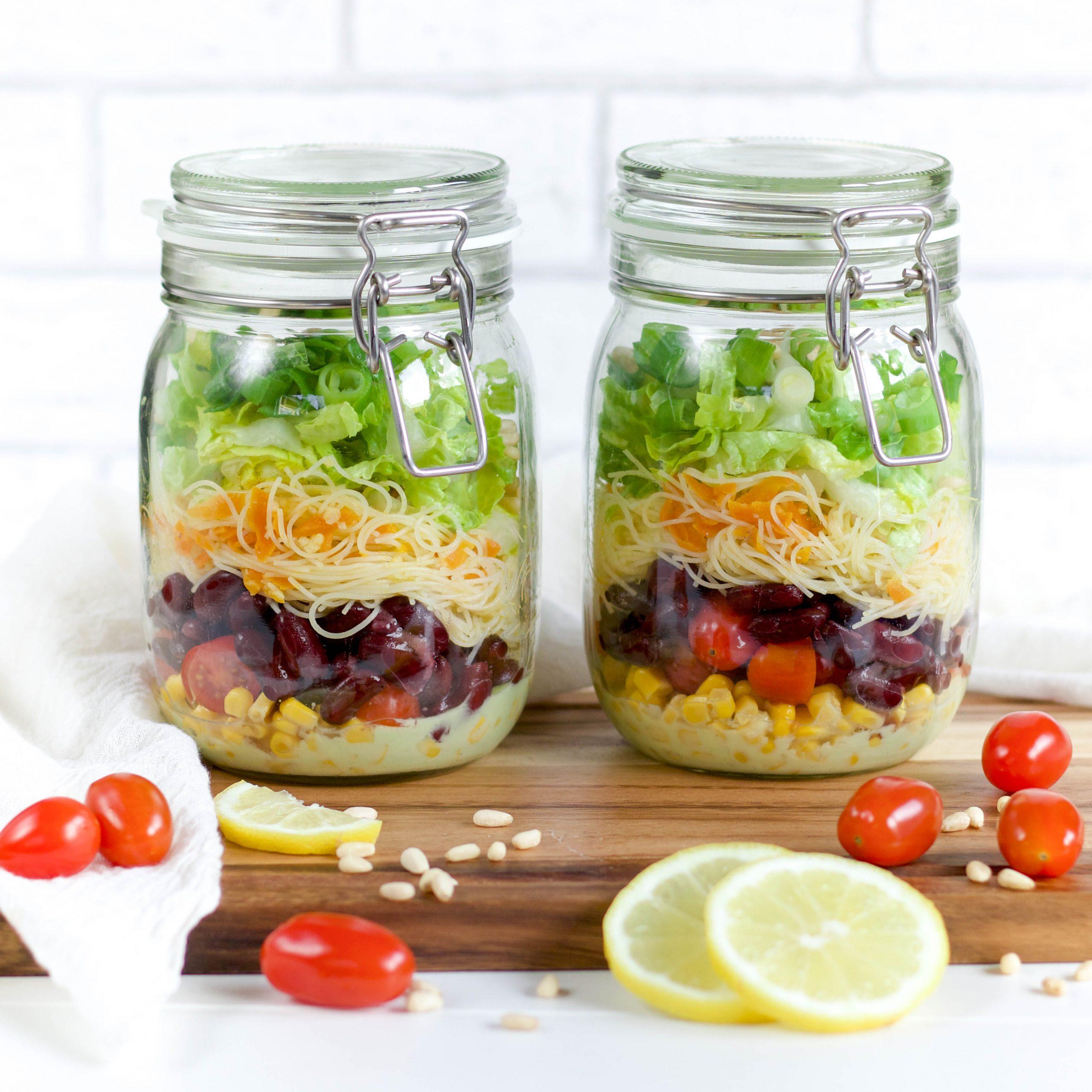 Meal Prep im Glas - Rezept