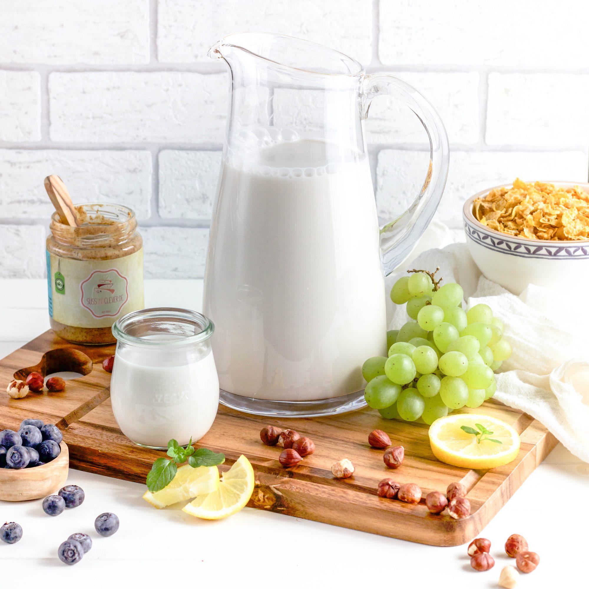Haselnussmilch